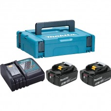 Makita 198118-0 Набор Аккумуляторы BL1860B + Зарядое устройство  DC18RS