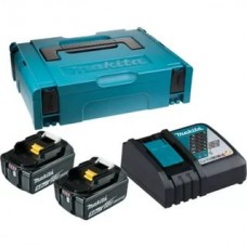 Makita 198311-6 Набор Аккумуляторы BL1850B + Зарядое устройство  DC18RS