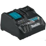 Makita 198445-5 Зарядное устройство DC18RE быстрое двухпортовое (Li-Ion 10,8/12/14,4/18В)
