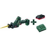 Metabo SSЕ 18 LTX Compact 1х3,5Ач LiHD Аккумуляторная сабельная пила