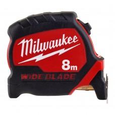 Milwaukee Рулетка PREMIUM WIDE BLADE 8м/33мм 4932471816