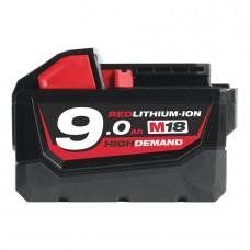 Milwaukee M18B9 18В/9.0Ач Аккумуляторная батарея